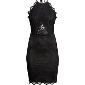 NWT H&M Lace Body Con Dress